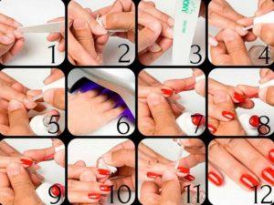 Как покрыть ногти гель лаком в домашних условиях?