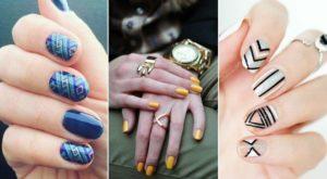 Дизайн на коротких ногтях: модный и удобный маникюр